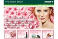 The Body Shop Australia ecommerce website